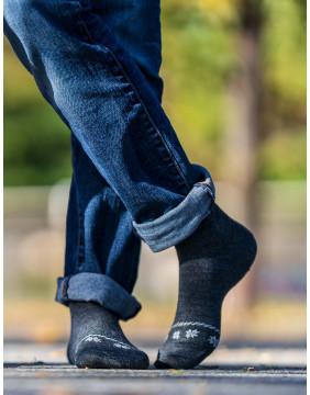 Chaussettes chaudes Homme pour l'hiver, fabriquées en France