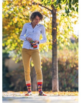 Chaussettes originales Made In France pour femme